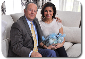 Dr. Warnick w/ daughter Katarina