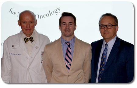Left to Right: Dr. John Tew, Dr. Christopher Sanders Taylor, Dr. Ron Warnick