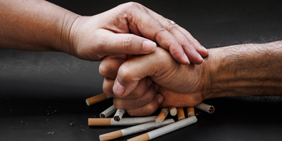 Smoking weakens bone