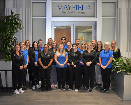 photo of Mayfield's PT Team