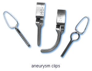 aneurysm clips